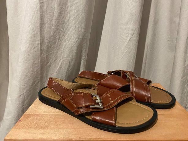 sandały męsie venezia buty skóra