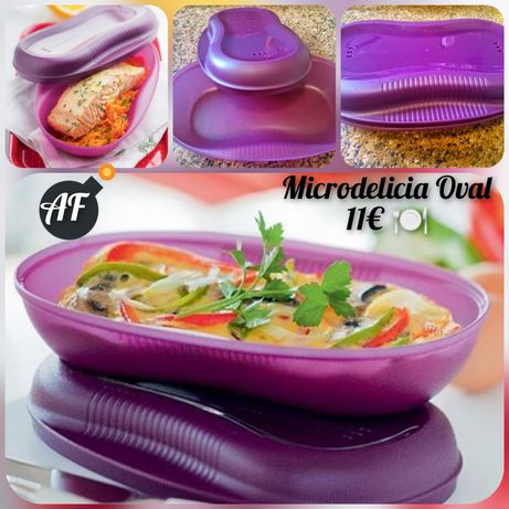Microdelicia Oval Tupperware