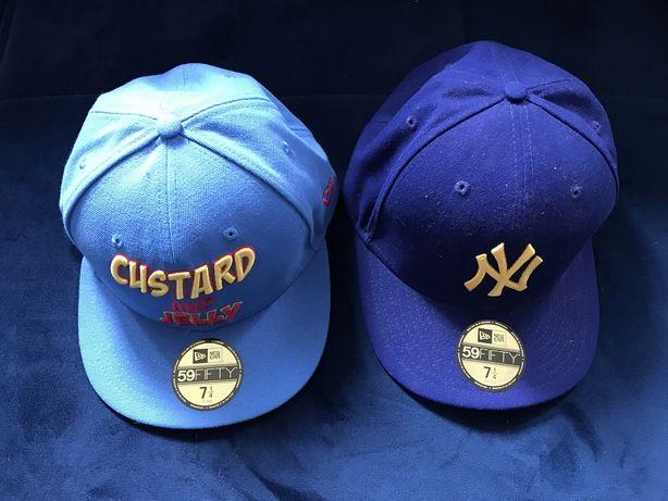 Dwie Nowe czapki z daszkiem 100% oryginał