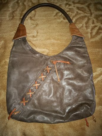 OCHNIK oryginalna skórzana torebka