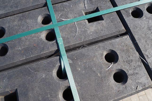 Stopa plastikowa ciężka 26 kg do ogrodzenia tymczasowego