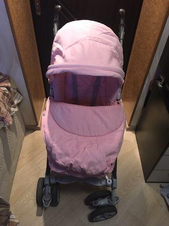Коляска CAM Family розовая