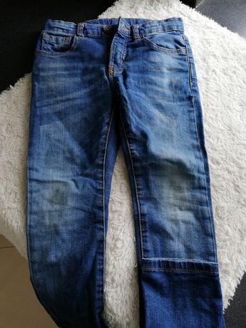 Zara jeansy chłopięce