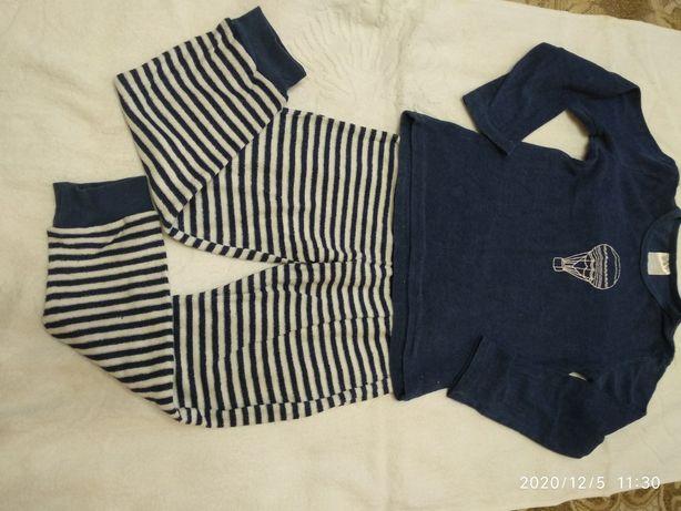Махровая пижамка р.128