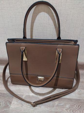 сумка с длинным ремнем