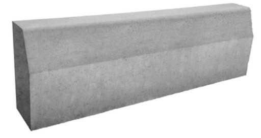 Krawężnik drogowy betonowy ciężki 50 cm