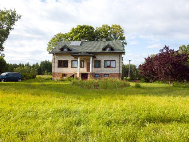 Zamienie dom 400m2 ze stawem na mieszkanie Rumoka 8 min od Ciechanowa