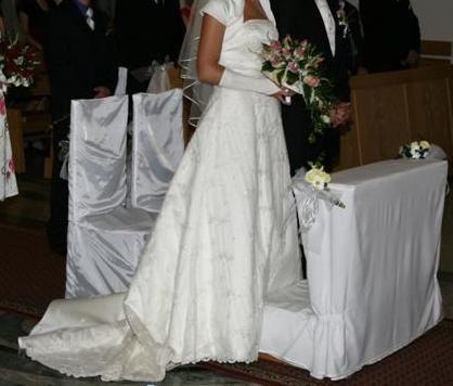 Suknia ślubna Cincerity Bridal 3079 kolor ecru