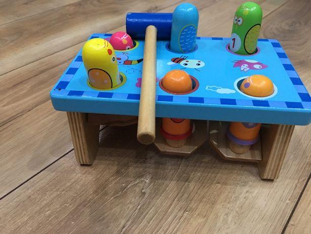 Zabawka drewniana dla dzieci wbijak