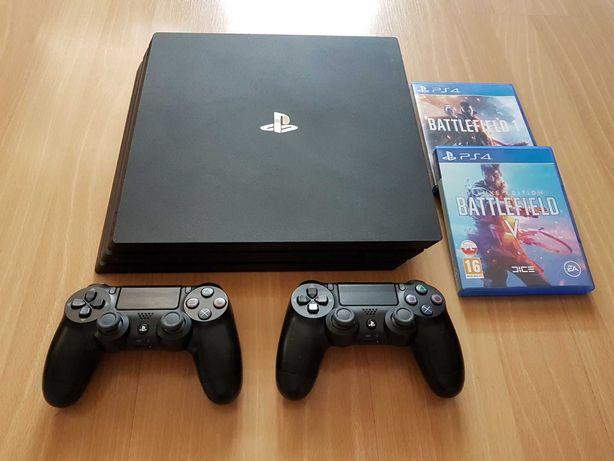 Konsola PlayStation 4 Pro, (Ps4 Pro) zestaw + wymianna
