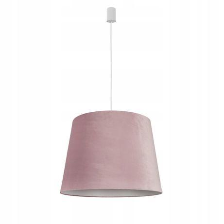 Różowa lampa abażur tkanina aksamit Nowodvorski CONE M PINK