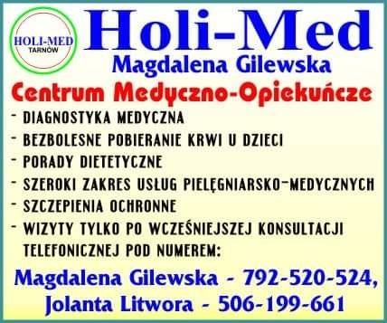 Usługi medyczno-pielęgniarskie