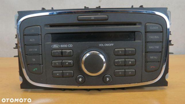 MONDEO MK4 FABRYCZNE RADIO 6000 CD KOD 7S7T18C815AB