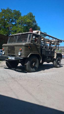 Продаем буровую установку на базе ГАЗ 66