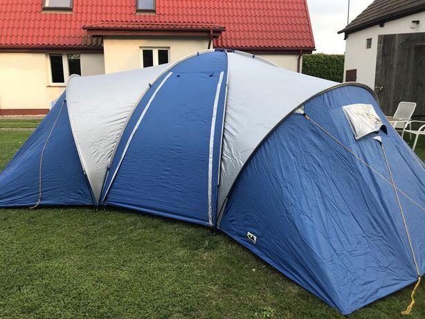 Namiot 6 osobowy, 3 sypialnie