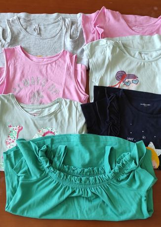 Lote 7 t-shirts 7/8 anod