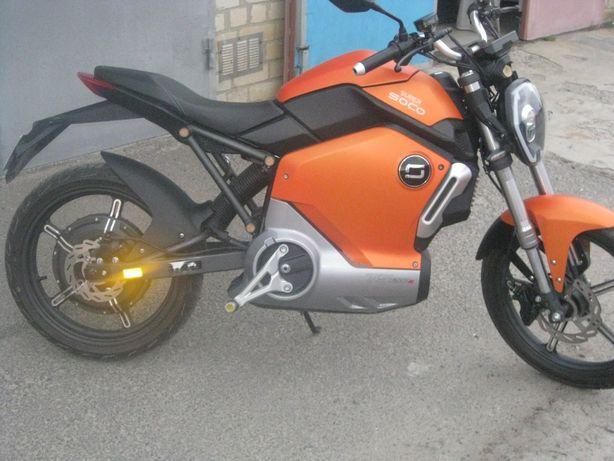 Электрический мотоцикл SOCO TS