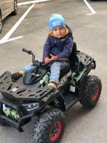 Найкращий! Дитячий Квадроцикл XM 607: пульт, 8 км/г /детский квадроцик