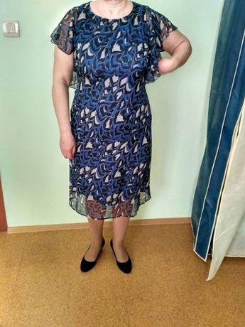 Платье натуральный шелк, 52 размер