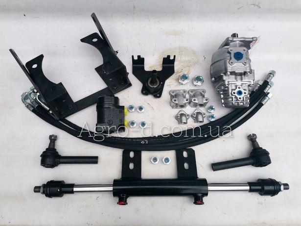 Переделка комплект насос дозатор на Т40,мтз 80,82, ЮМЗ с двухсторонним