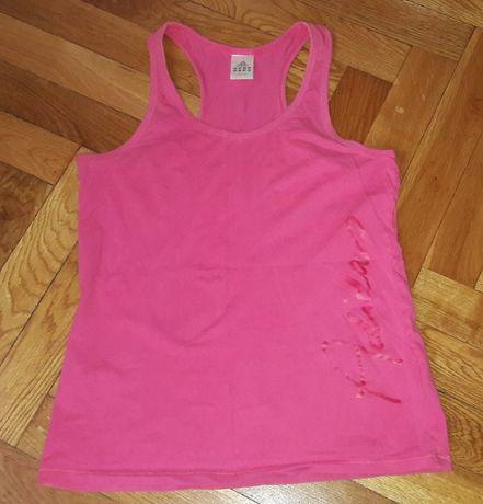 Różowa bokserka Adidas XL fitness
