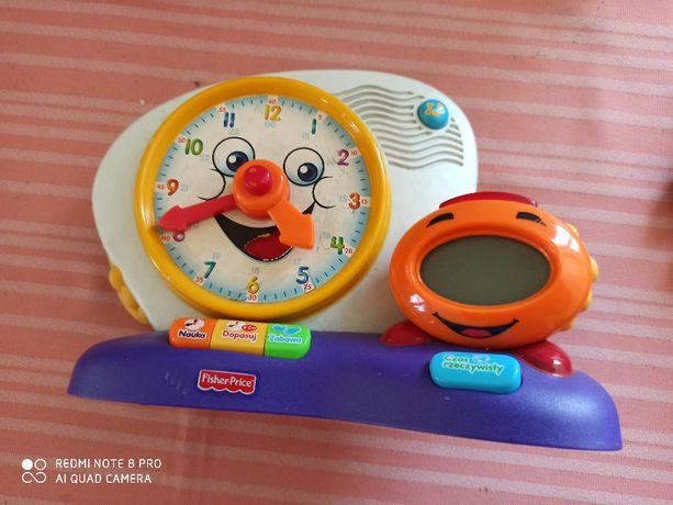 Zegar zabawka dla dziecka