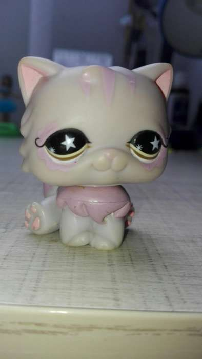 UNIKAT Lps LittlePetShop figurka kotek, stara kolekcja