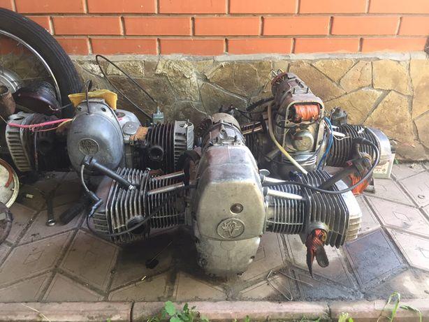 Двигатель МТ-9-10-11, к-750 Днепр. Розборка