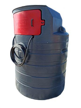 Dwupłaszczowy zbiornik na ropę 1500 ON