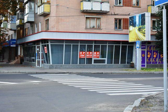 Аренда торгового помещения 123 м2 Фасад 20 метров, напротив ЖД вокзала
