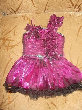 красивенное платье 9- 18 мес