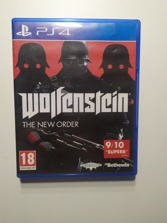 Wolfenstein the new order pl  ps4 PlayStation 1 2 3