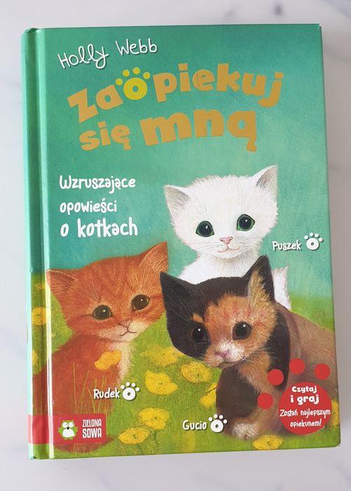 Zaopiekuj się mną zbiór twarda okładka wzruszające opowieści o kotkach Kobyłka - image 1