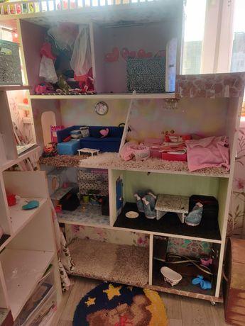 кукольный домик, дом для кукол