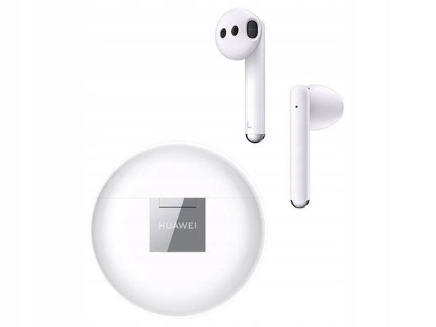 Nowe Huawei FreeBuds 3 z dowodem zakupu białe