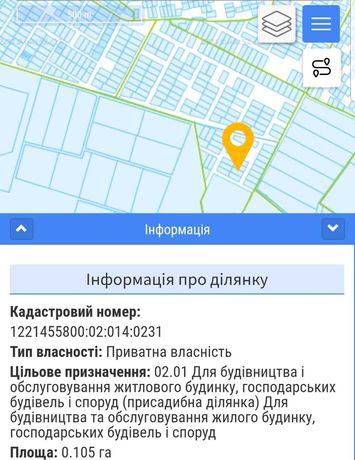 Продам участок р-н котедж.городка Антей,смт.Слобожанское/Юбилейное