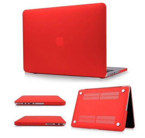 Capa protetora para Macbook Retina Pro 13 vermelho - Matte
