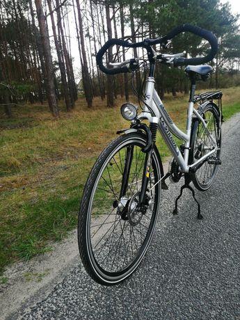 Rower damka koła 28 cale Alu trekigowy La Strada