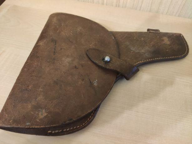 Кобура от револьвера системы Наган кожаная 1930-тих
