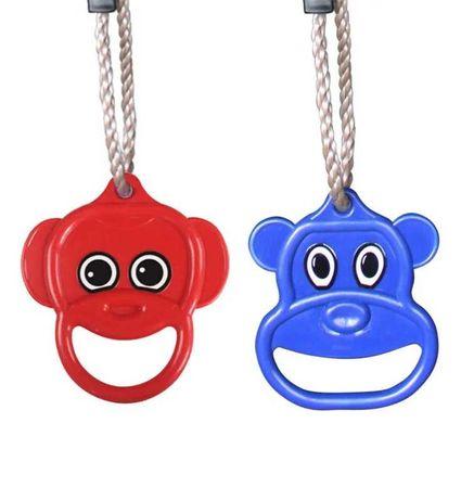 Акробатические кольца Кольца пластиковые на веревках WCG Teddy