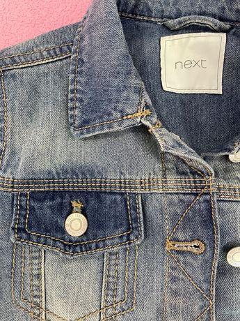 Джинсовая куртка Next (Zara, h&m, next) 9 лет
