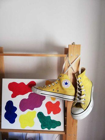 Converse all star amarelas 38