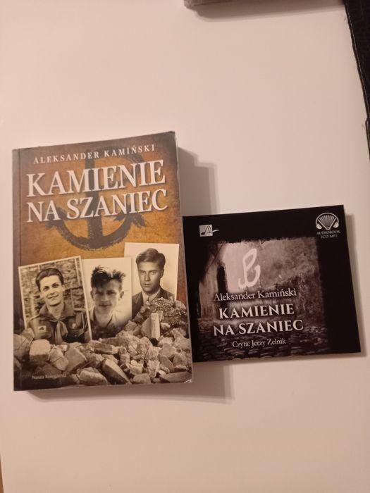 Kamienie na szaniec + audiobokk cd Robakowo - image 1