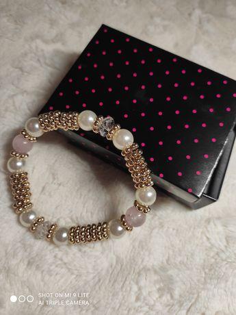 Bransoletka biżuteria z koralikami Avon prezent