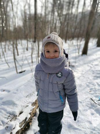 Детский зимний пуховик Star Wars
