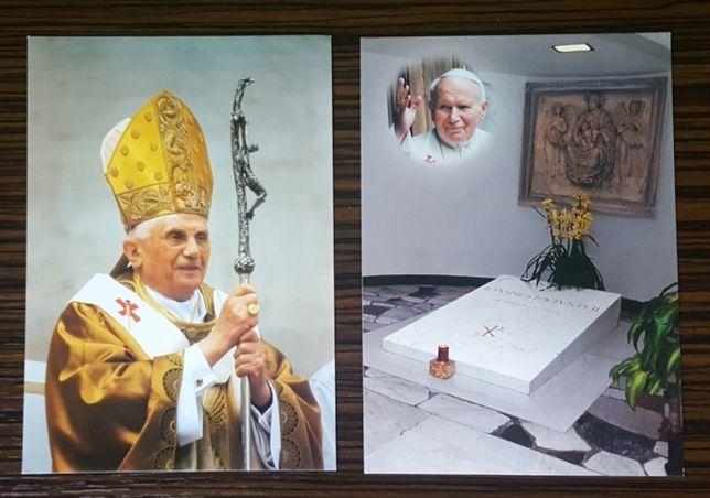 Pocztówki z Watykanu * Jan Paweł II * Benedykt XVI * Watykan