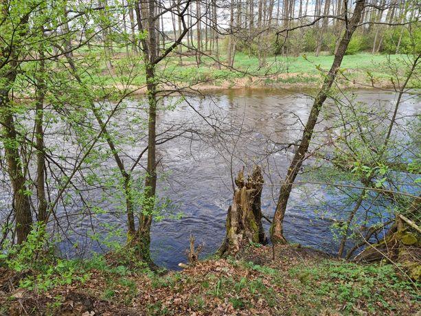 Działka rekreacyjna z dostępem do rzeki 48 arów