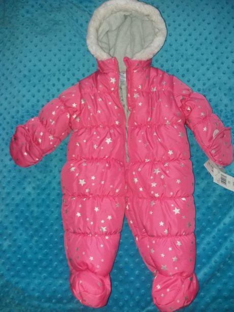 Комбинезон Carters розовый рост до 70 см