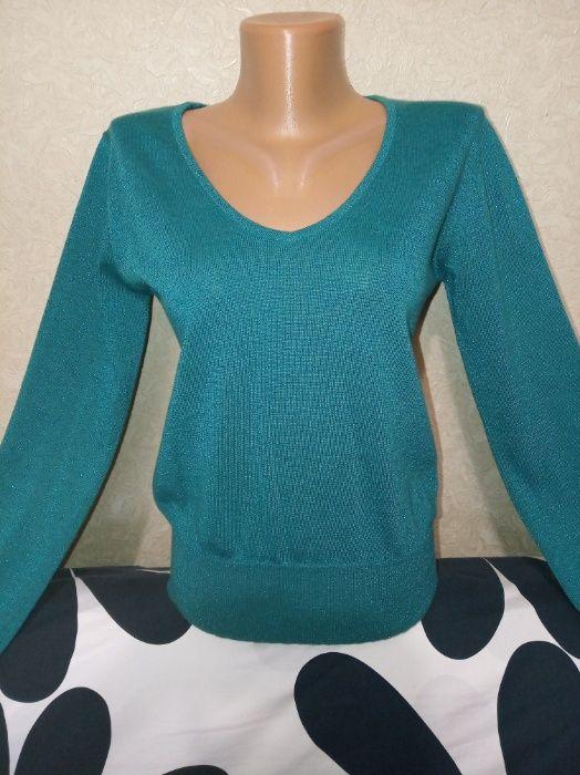 Изумрудный свитер с блеском Житомир - изображение 1