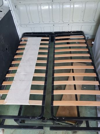 Kanapa rozkładana z funkcją spania i materacem 160x200
